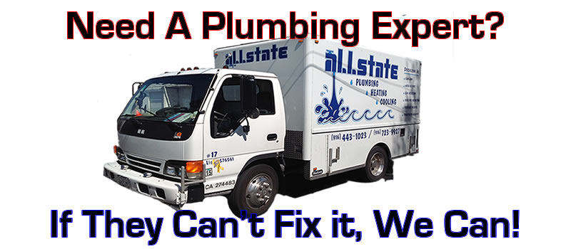 Plumbing experts All State Plumbing, Heating and Air conditioning