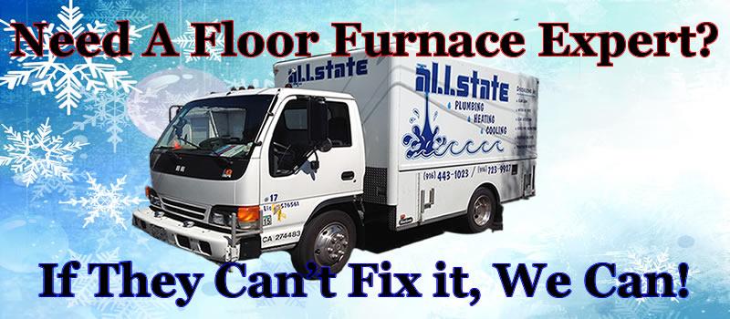 Floor Heater Repair Long Beach